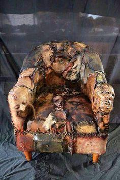 Halloween Butcher shop chair