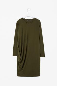 12d06b3dbae9e Asymmetric seam dress Blouses