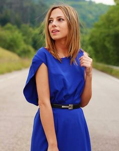 Vestido azul Indi&Cold - Looks and shoes