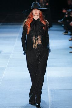 Saint Laurent Spring 2013 Ready-to-Wear Fashion Show - Codie Young (Viva)