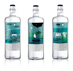 El arte pictórico impregna el packaging de Agua de Lunares
