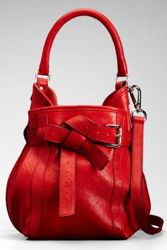 Thakoon  How cute is the purse! And we know I love red! #redpurse #cutepurse #handbag