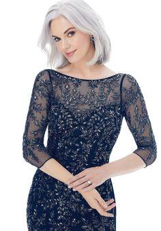 Designer Mother of the Bride Dresses | Morilee - Part 3 Navy Evening Dresses, Bride Dresses, Formal Dresses, Madeline Gardner, Mother Of The Bride, Groom, Bridal, Dresses For Formal, Mother Bride