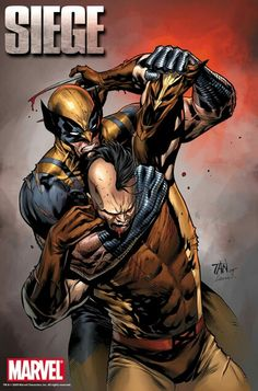 Siege Wolverine vs Daken