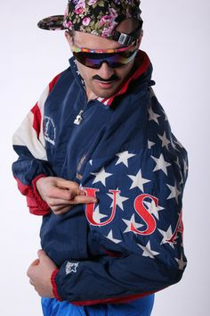 USA Olympics Starter Jacket  | Get your USA gear and all manner of outrageous threads at Shinesty.com