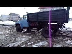 Зил130 без глушителя - YouTube Monster Trucks, Youtube, Youtubers