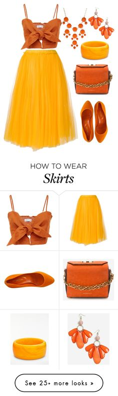 """""""#175"""" by monika-r on Polyvore featuring N°21, Sergio Rossi, Alexander McQueen, Topshop, New Directions and John Lewis"""