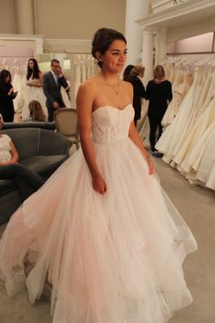 SYTTD Season 15, Featured Dress. Designed by Tara Keely, Style 2510. Strapless, with sweet heart neckline and horsehair bottom. $2,299