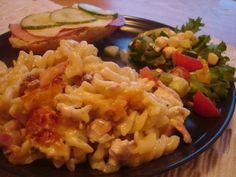 pekonipasta Easy Cooking, Mashed Potatoes, Macaroni And Cheese, Grains, Rice, Ethnic Recipes, Food, Whipped Potatoes, Mac Cheese