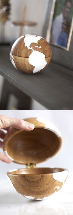 DIY Globe Accessory Using Two IKEA Bowls   IKEA Hack   Kristi Murphy