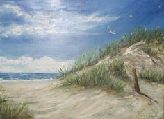 """You divided the SEA by Your strength; You broke the heads of the SEA serpents in the waters. Psalm 74:12-14 (""""New England beach"""" by Monique Solanilla)"""