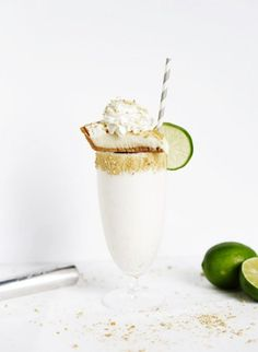 Key Lime Pie Milkshake
