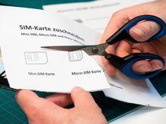 SIM-Karte zuschneiden: Mini-SIM, Micro-SIM & Nano-SIM
