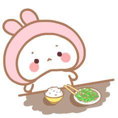 24 Cute little bunny gifs iPhone Emoji Animoji Cute Love Gif, Cute Love Memes, Cute Love Cartoons, Cute Cartoon, Funny Bunnies, Cute Bunny, Emoticon, Emoji, Cute Kawaii Animals