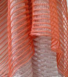 Nadia Catena, The Glasgow School of Art Knitted Textiles – machine knitting ideas Knitting Stitches, Knitting Designs, Hand Knitting, Knitting Machine, Sewing Designs, Vintage Knitting, Loom Knitting, Knit Art, Glasgow School Of Art