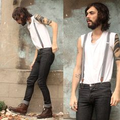 Acne White T Shirt, H Brown Boots