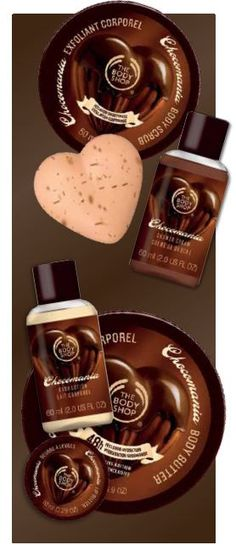The Body Shop Chocomania.....Best stuff out there right now..