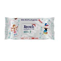 Servetele umede antibacteriene Kids, 70 bucati, Touch [5948874125304] - articole copii recomandate pentru Sampoane, geluri si spumante baita