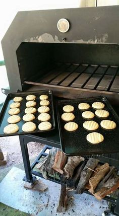 """Shortbread - from the Gallery of """"Firing Up"""" Your Taste Buds - Jagrd Outdoor Wood Fired Ovens Outdoor Oven, Wood Fired Oven, Ovens, Griddle Pan, Shortbread, Taste Buds, Firewood, Roast, Meals"""