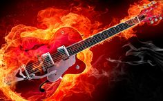 Electric Guitar Wallpaper For Desktop Hd Background - HD Wallpapers