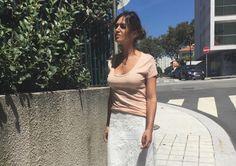 La falda de Sara Carbonero que ha enloquecido a Instagram