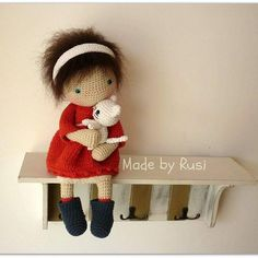 #crochet #crochetdoll #amigurumi #amigurumidoll #amigurumicat #madebyrusi…