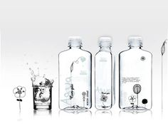 Packaging of the World: Creative Package Design Archive and Gallery: Clarity Water (Student Work) #design #packaging