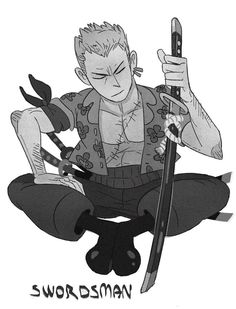 Zoro by Crew1 on DeviantArt