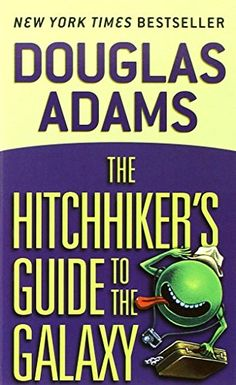 The Hitchhiker's Guide to the Galaxy by Douglas Adams https://www.amazon.com/dp/0345391802/ref=cm_sw_r_pi_dp_x_ir9wybY44PG14