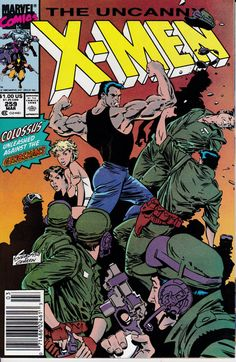 Uncanny X-Men 259 March 1990 Issue  Marvel Comics  by ViewObscura