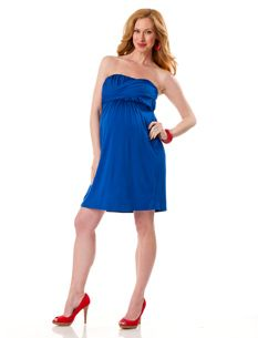Cute maternity dress!  No small though! :(