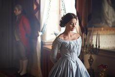 "Episode One – ""Doll 123"" from Victoria on Masterpiece. As a new queen, the young Victoria struggles to take charge amid plots to manipulate her. Victoria's friendship with the prime minister leads to a crisis in Parliament. Shown: Jenna Coleman as Queen Victoria. (ITV Plc)"