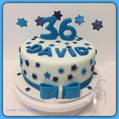 FLOWER CAKE DESIGNER: Bolo de aniversário homem