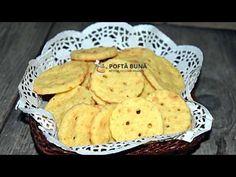 Biscuiti aperitiv cu unt si branza, un aperitiv gustos, crocant si cu gust de branza, numai bun sa fie savurat. Biscuitii sunt facuti dupa o reteta simpla.