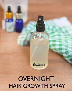 Homemade Overnight Hair Growth Spray