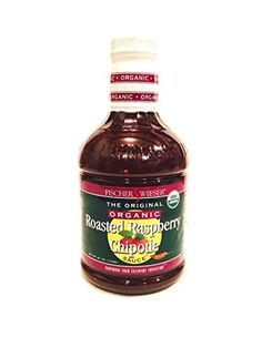 Fischer Wieser Razzpotle Roasted Raspberry Chipotle Sauce Organic Bottle -- Learn more by visiting the image link. Raspberry Chipotle Sauce, Gourmet Cheese, Crackers, Roast, Image Link, Organic, Meals, Cream, The Originals