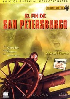 El fín de San Petersburgo (1927) Unión Soviética. Dir.: Vsevolod Pudovkin. Drama. Histórico. Revolución rusa - DVD CINE 1964