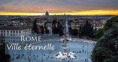 Rome, cité où l'antique et le moderne se côtoient au quotidien, où il fait bon battre le pavé, s'arrêter boire un café au comptoir et rêver de temps anciens