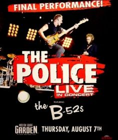 The Police (Musical Artist) Memorabilia Tour Posters, Band Posters, Event Posters, Rock & Pop, Rock N Roll, Singing Techniques, Pops Concert, Guitar Lessons, Guitar Tips