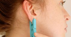 This Incredible Pain Relief Method Is As Simple As Putting A Clothespin On Your Ear via LittleThings.com