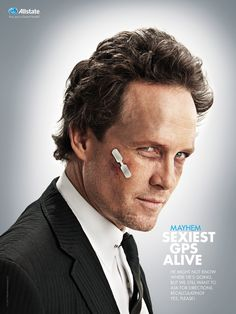 Dean Winters, the man behind the mayhem for Allstate. Mayhem Allstate, Dean Winters, Raining Men, Celebs, Celebrities, Make Me Smile, The Man, Actors & Actresses, Sexy Men