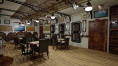 steampunk flooring - Google Search