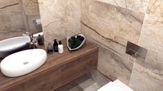 Mała łazienka w dwóch odsłonach - Malaga, Sink, Vanity, Bathroom, Home Decor, Sink Tops, Dressing Tables, Washroom, Vessel Sink