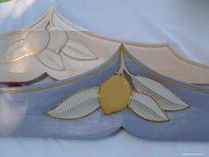 particolare dei decori con stoffe su ceramica e particolari in legno (37)a