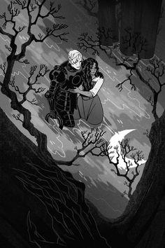 Between the Water and the Woods — Sara Kipin Sara Kipin, Art Sketches, Art Drawings, Rabe, Delphine, Arte Disney, Fantasy Inspiration, Pretty Art, Aesthetic Art