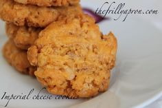 12 Days of Christmas: Day 6 Imperial Cheese Cookies