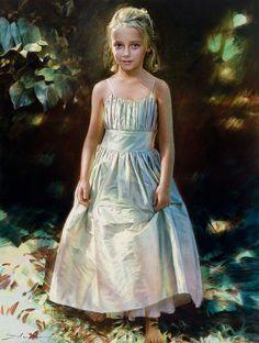 Robert Schoeller Festés: Little Girl Portrait Little Girl Portrait 176