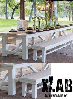 tavoli in legno massello - tavolo in legno dal sapore rustico ... - Tavoli In Legno Rustici Per Esterno