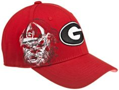 NCAA Men's Georgia Bulldogs Strike Zone Cap (Red, One Size) by Top of the World. $17.99. 1 Fit. 3D Embroidery. cotton. 100% Cotton Spandex. China. Strike Zone Is A Cotton Spandex One-Fit Cap. Front Logo Is 3D Embroidery. The Oversized Side Logo Is Screen Print And Running Outline Stitch. Back Logo Is Flat Stitch.. Save 10% Off!