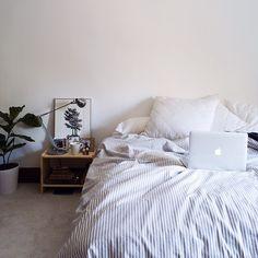 Room inspo simple room design minimalist  clean  bedroom  white
